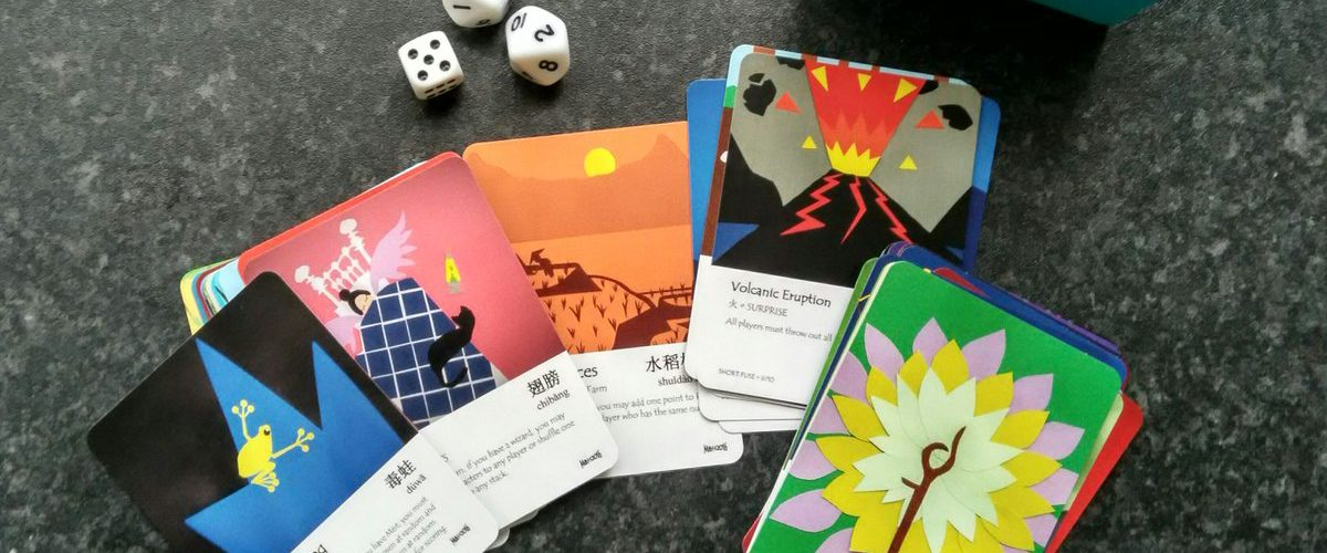 Learn Chinese with a language card game by Matthew Boyle called Chinese Champions.